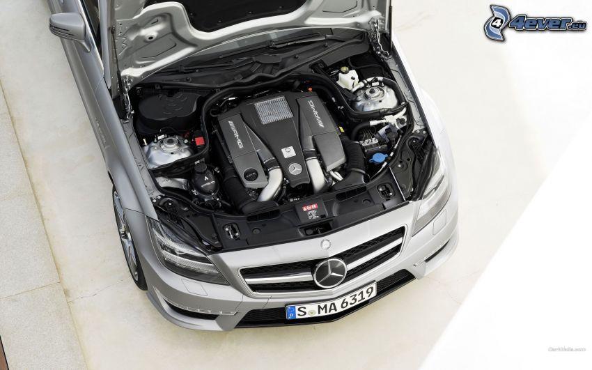 Mercedes CLS 63 AMG, silnik