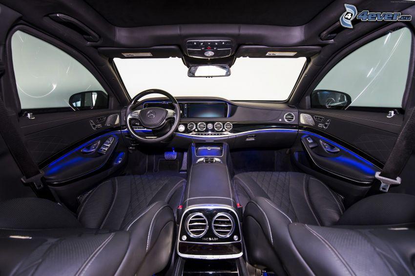 Mercedes-Maybach 6, wnętrze