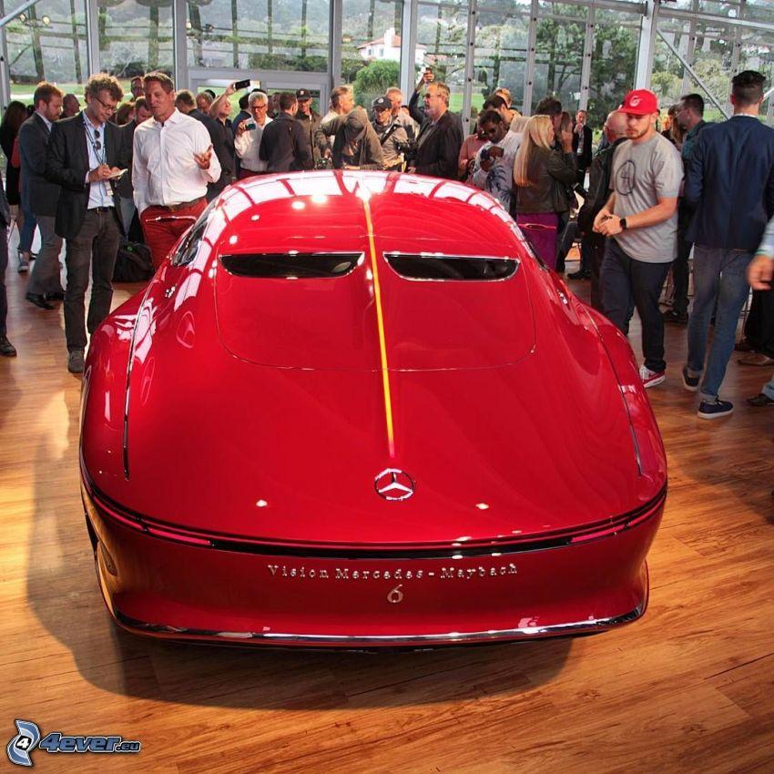 Mercedes-Maybach 6, wystawa, autosalon