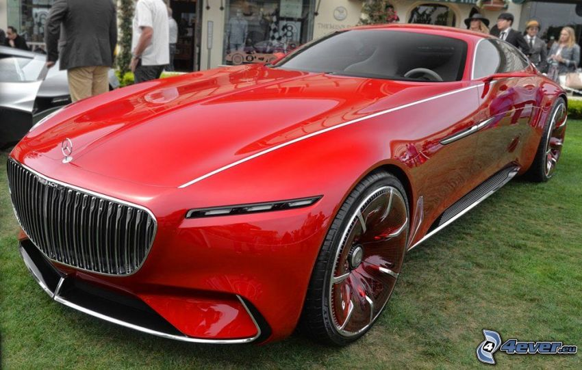 Mercedes-Maybach 6, wystawa, autosalon