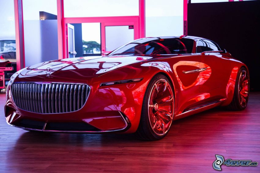 Mercedes-Maybach 6, wystawa