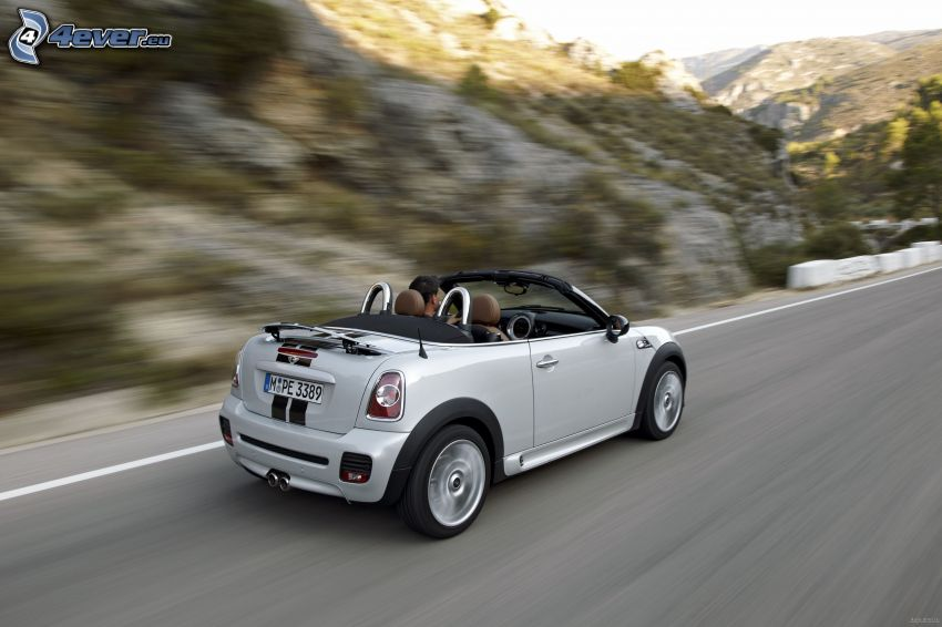 Mini Cooper Roadster, kabriolet, prędkość