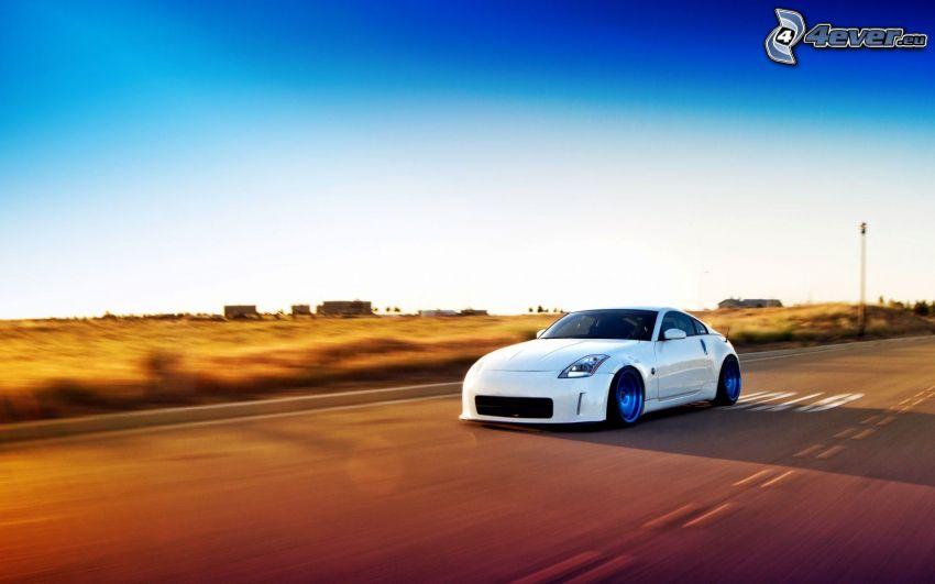 Nissan 350Z, prędkość