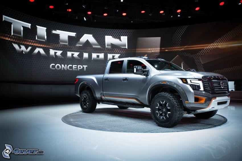 Nissan Titan, wystawa, autosalon