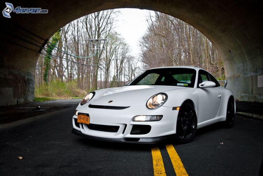 Porsche, tunel