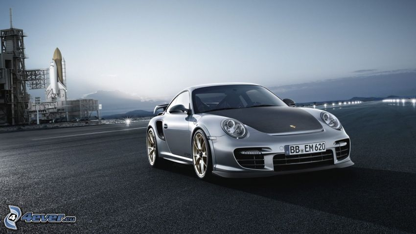 Porsche 911 GT2, rakieta