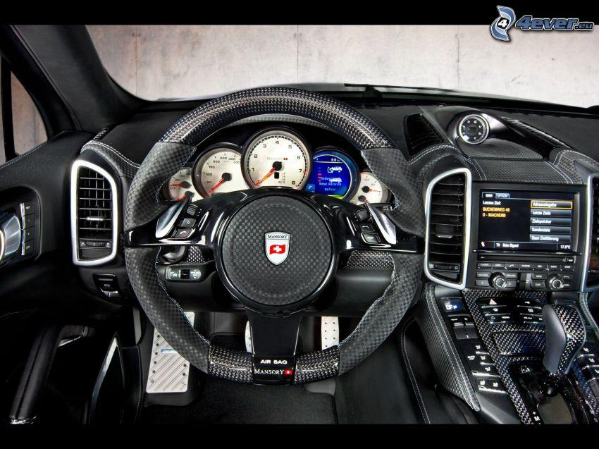 Porsche Cayenne, wnętrze