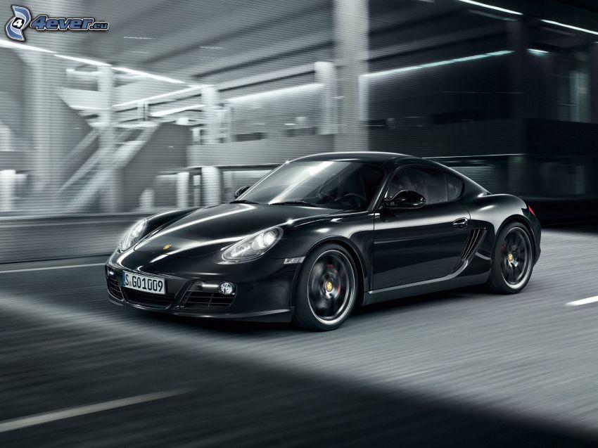 Porsche Cayman S, prędkość