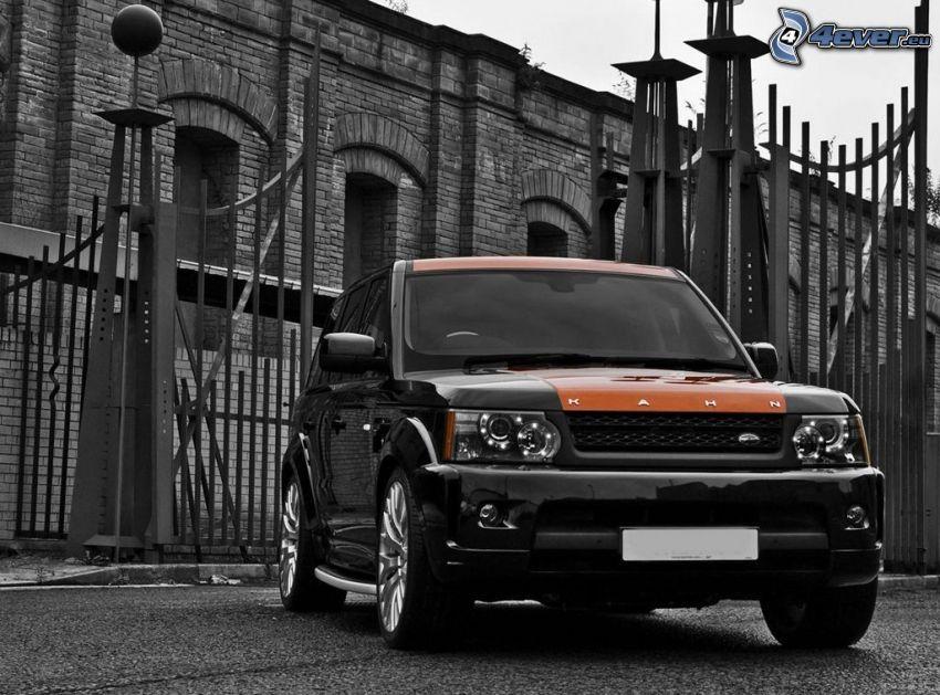 Range Rover, budowla