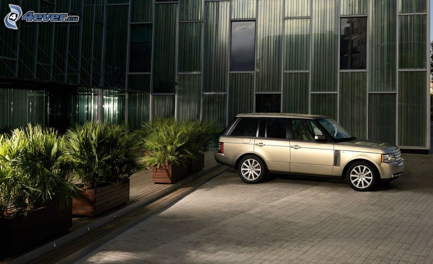 Range Rover, doniczki