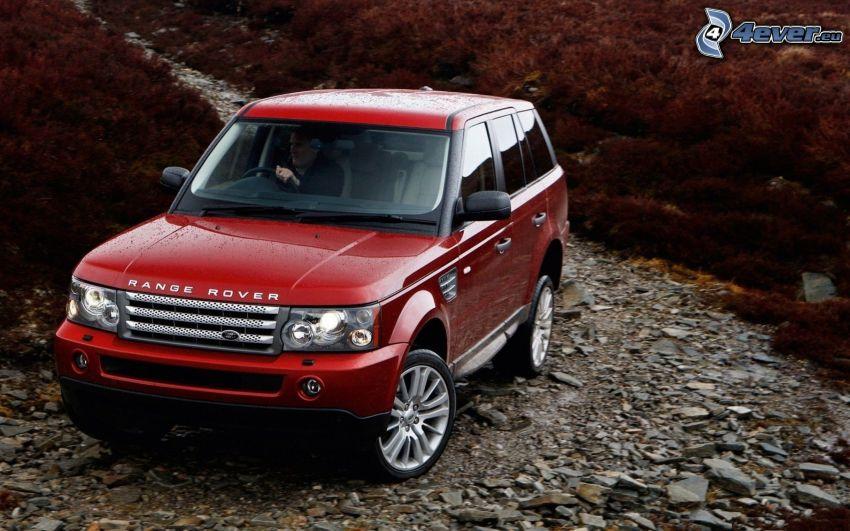 Range Rover, teren