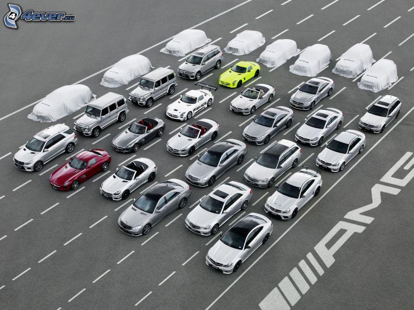 Samochody, Mercedes-Benz, AMG