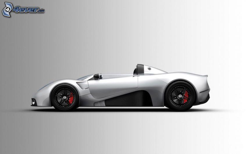 Scuderia Bizzarrini P538, kabriolet, sportowe auto
