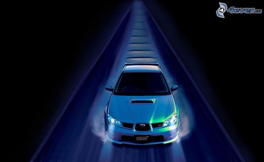 Subaru Impreza, prędkość
