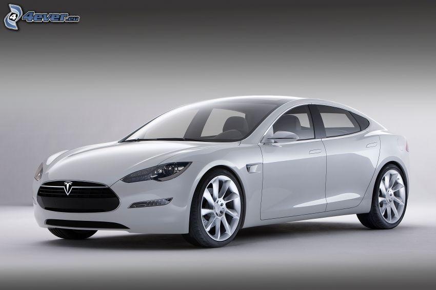 Tesla Model S, projekt, samochód elektryczny