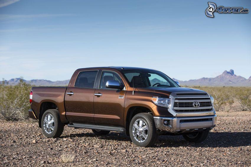 Toyota Tundra, pasmo górskie