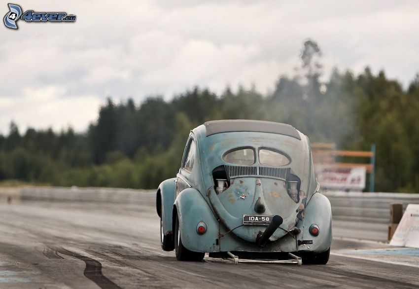Volkswagen Beetle, Hot Rod, weteran