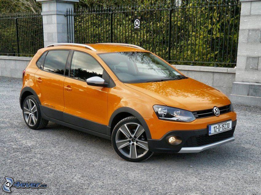 Volkswagen Cross Polo, płot