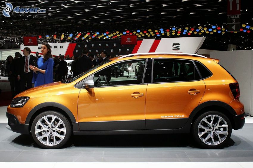 Volkswagen Cross Polo, wystawa, autosalon