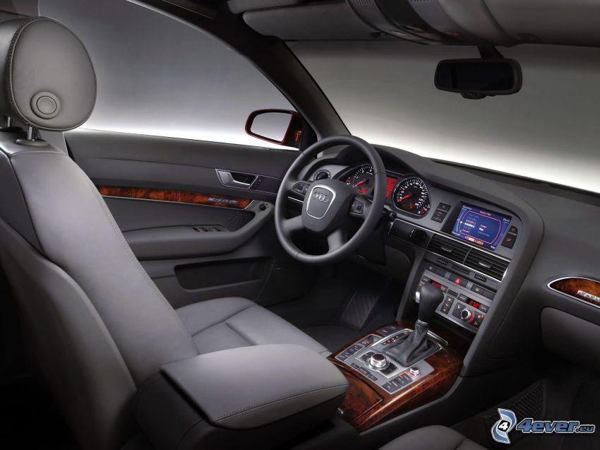 wnętrze Audi A6