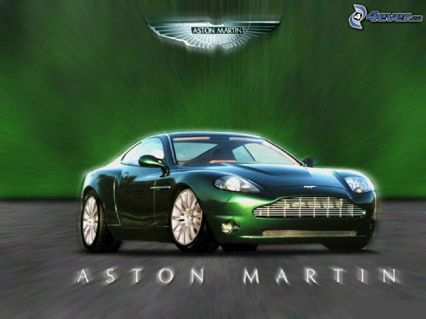 Aston Martin, samochód