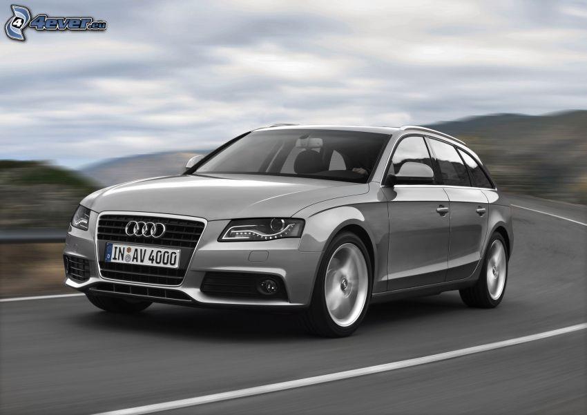 Audi A4, kombi, prędkość