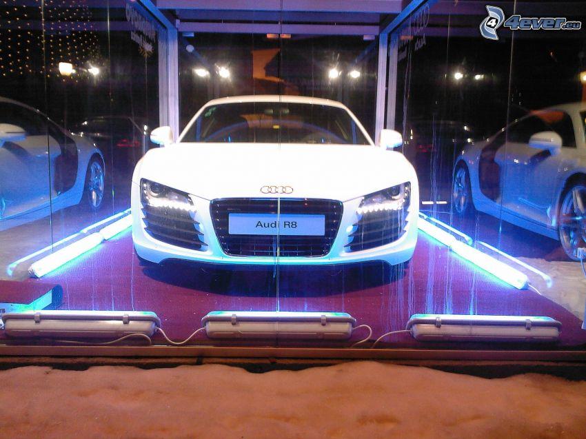 Audi R8, autosalon