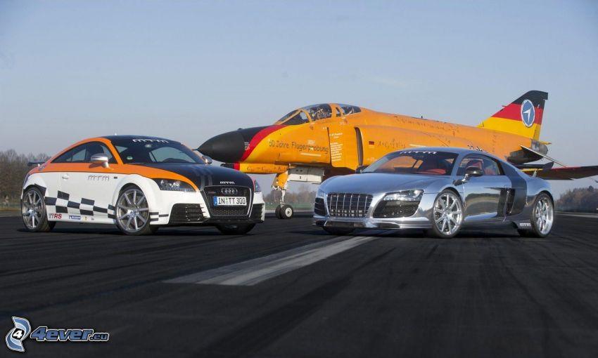 Audi TT, Audi R8, myśliwiec