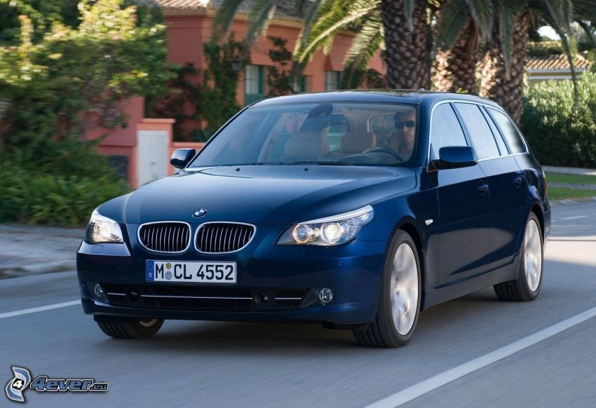 BMW 5, prędkość