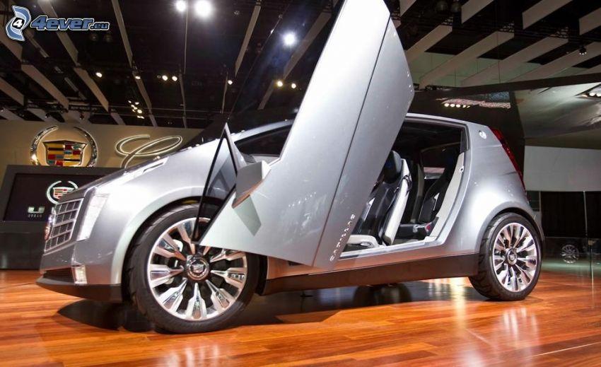 Cadillac Urban Luxury, drzwi, autosalon, wystawa