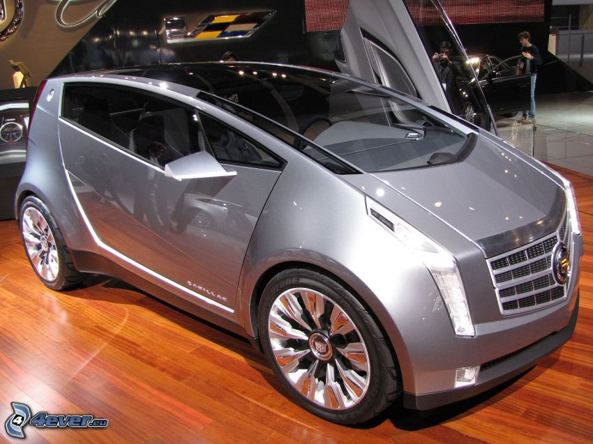 Cadillac Urban Luxury, wystawa, autosalon