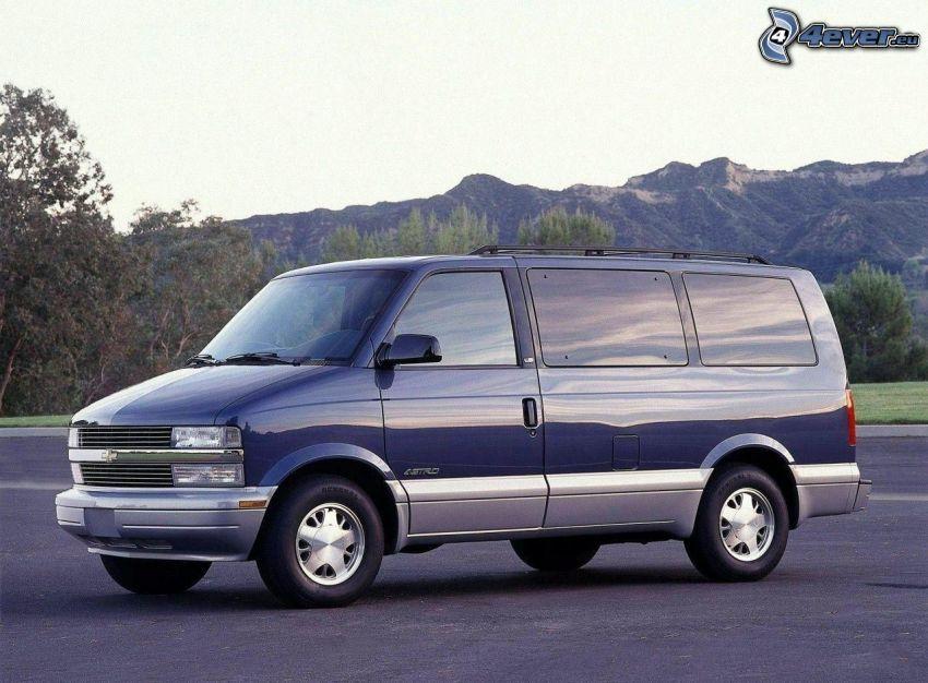 Chevrolet, auto dostawcze