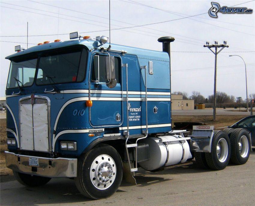 amerykańska ciężarówka