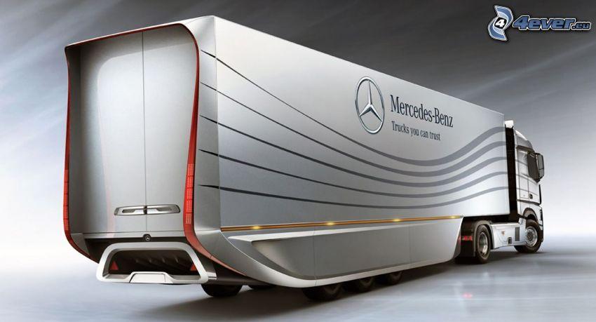 ciężarówka, Mercedes-Benz