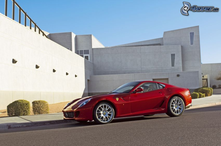 Ferrari 599 GTB Fiorano, budowla