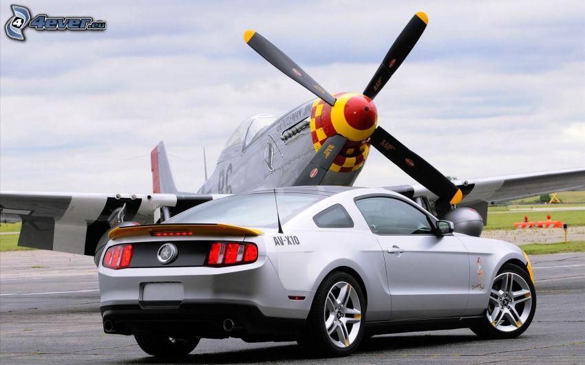 Ford Mustang, śmigło