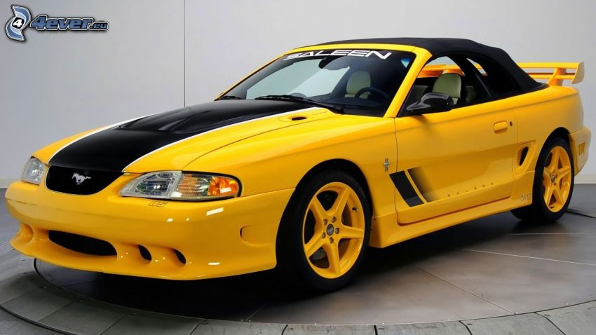Ford Mustang GT, kabriolet, weteran, Saleen