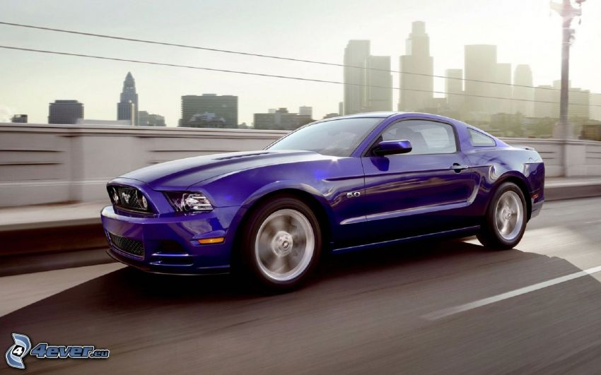 Ford Mustang GT, prędkość, ulica