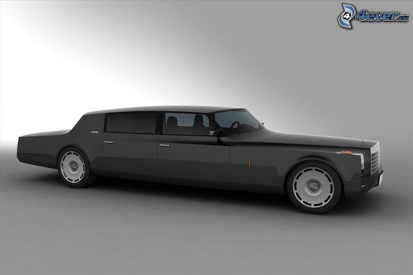 Mercedes, limuzyna