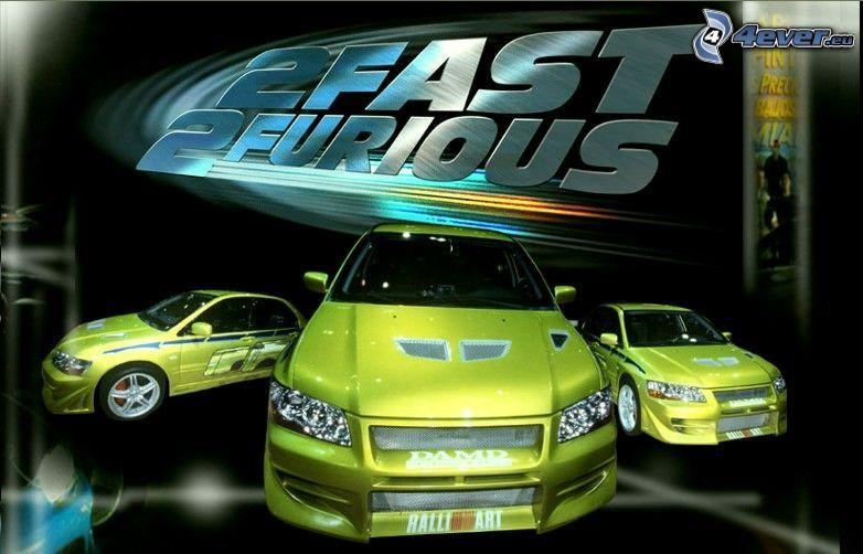 Mitsubishi Lancer Evolution, Szybcy i Wściekli 2