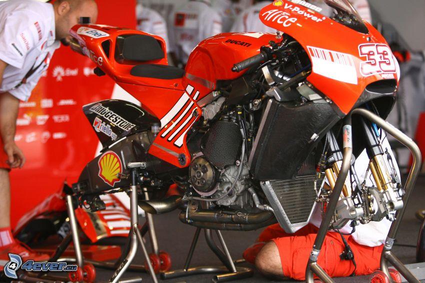 Ducati, mechanik
