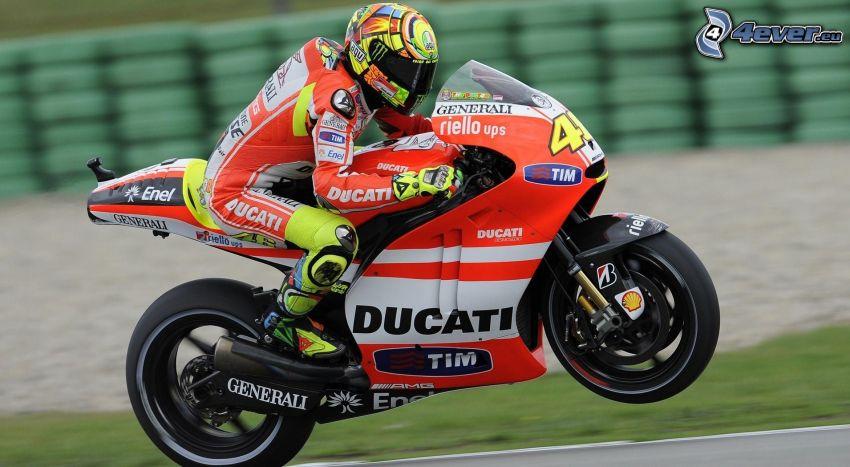 Ducati, motocyklista, prędkość, wyścigi