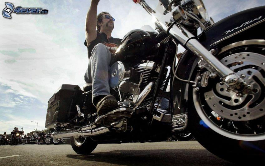 Harley-Davidson, motocyklista