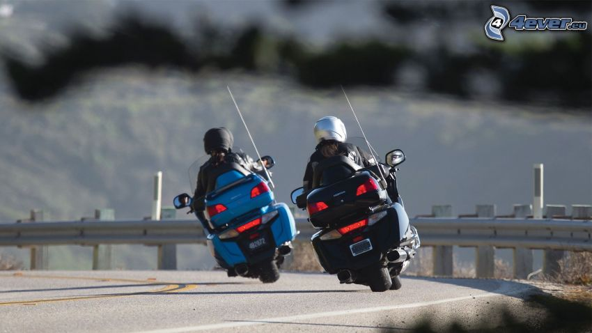 Honda Goldwing, motocyklista