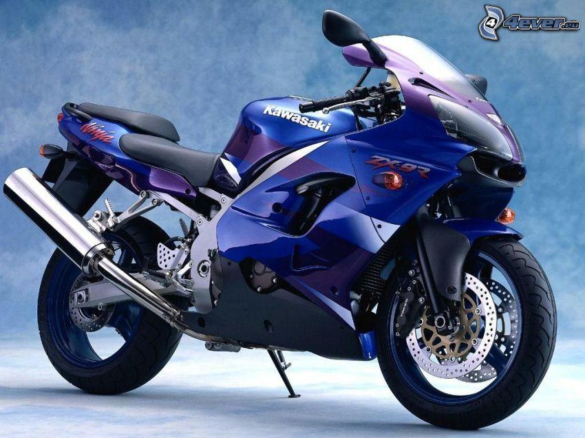 Kawasaki, motocykl, ninja