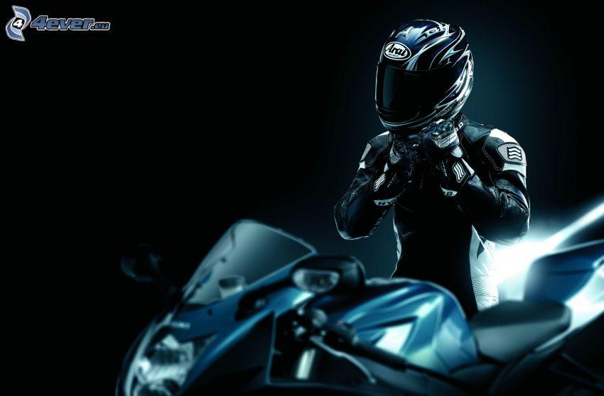 motocyklista, Suzuki GSX-R