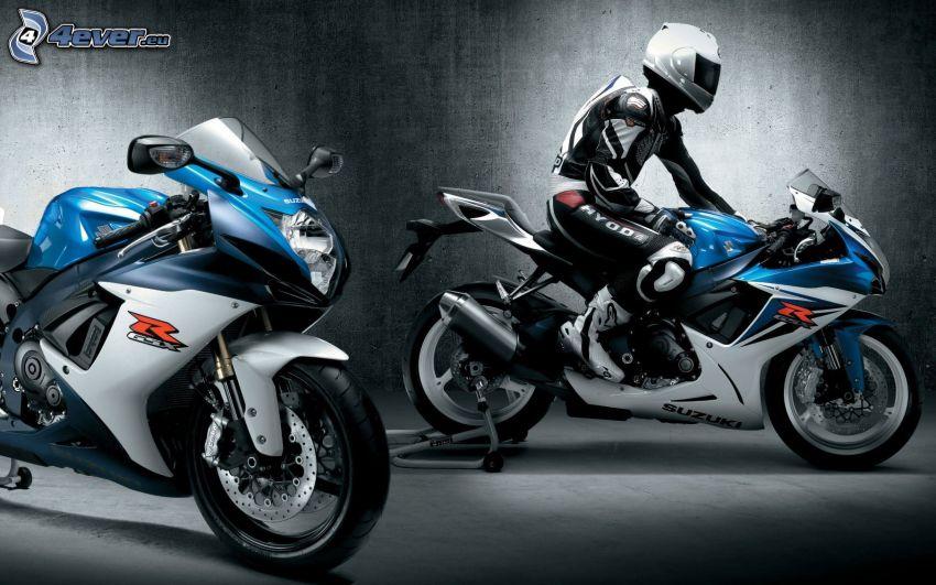 Suzuki GSX-R, motocyklista