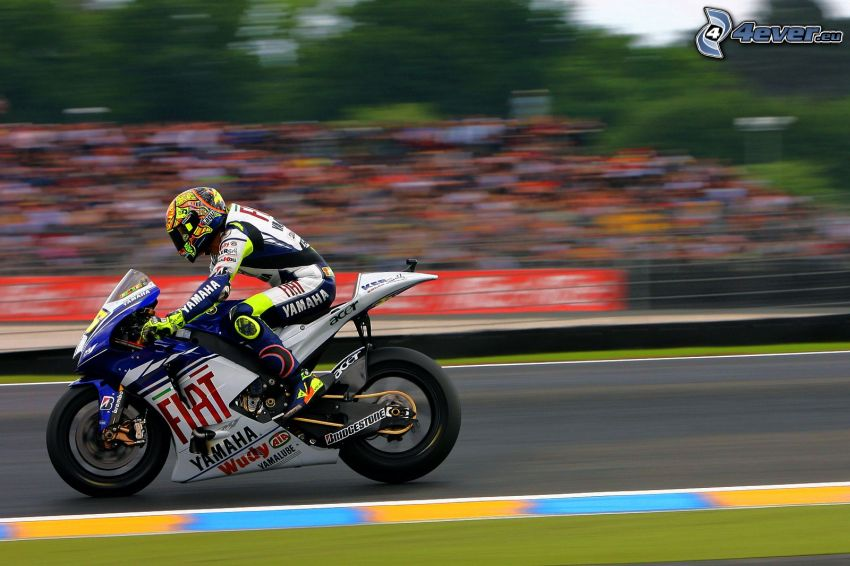 Valentino Rossi, motocyklista