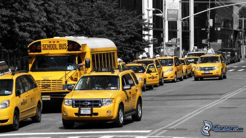 NYC Taxi, ulica