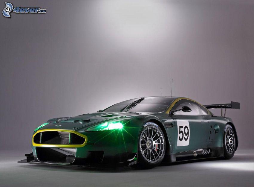 Aston Martin, światło